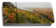 Lake Of The Clouds 9 Portable Battery Charger