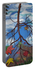 Lake Reflections - Autumn Portable Battery Charger