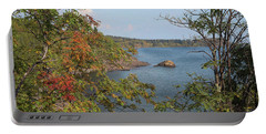 Lake Superior Autumn Portable Battery Charger
