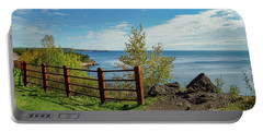 Lake Superior Overlook Portable Battery Charger