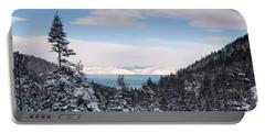 Lake Tahoe Panorama Portable Battery Charger
