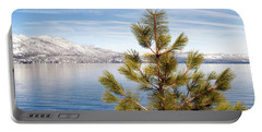 Lake Tahoe Pine Tree Portable Battery Charger