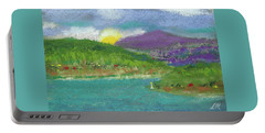 Portable Battery Charger featuring the photograph Lake View by David Patterson
