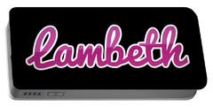 Lambeth #lambeth Portable Battery Charger