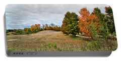 Landscape In The Fall Portable Battery Charger