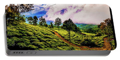 Green Landscape Portable Battery Charger