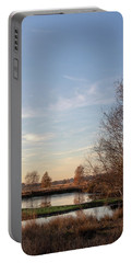 Portable Battery Charger featuring the photograph Landscape Scenery by Anjo Ten Kate