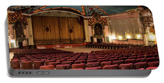 Portable Battery Charger featuring the photograph Lansdowne Theater by Kristia Adams