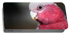 Large Pink And Grey Galah. Portable Battery Charger