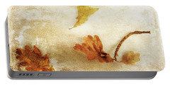 Portable Battery Charger featuring the photograph Last Days Of Fall by Randi Grace Nilsberg