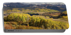 Portable Battery Charger featuring the photograph Last Dollar Road by James BO Insogna