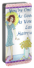 Last Haircut Portable Battery Charger