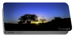 Last Light Texas Hill Country Paradise Canyon Sunset 8053a Portable Battery Charger
