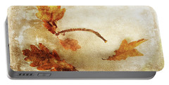 Portable Battery Charger featuring the photograph Late Late Fall by Randi Grace Nilsberg