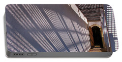 Portable Battery Charger featuring the photograph Lattice Shadows by Tom Gresham