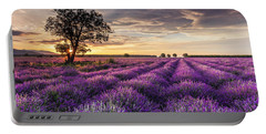 Lavender Sunrise Portable Battery Charger