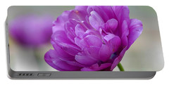 Lavender Tulip Portable Battery Charger