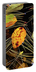 Leaf In Pond Portable Battery Charger