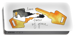 Leave Traces Of Grace Portable Battery Charger