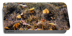 Portable Battery Charger featuring the photograph Leaves Of Grass by Jon Burch Photography