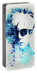 Legendary Andy Warhol Watercolor Portable Battery Charger