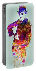 Legendary Charlie Watercolor Portable Battery Charger