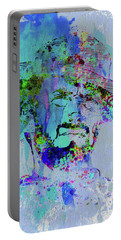 Legendary Clint Eastwood Watercolor Portable Battery Charger