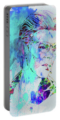 Legendary David Bowie Watercolor Portable Battery Charger