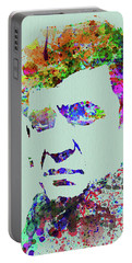 Legendary Johnny Cash Watercolor Portable Battery Charger