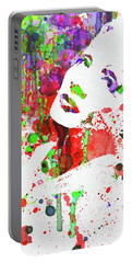 Legendary Marlene Dietrich Watercolor IIi Portable Battery Charger