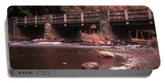 Lehigh Parkway Robin Hood Bridge - Impressionism Portable Battery Charger