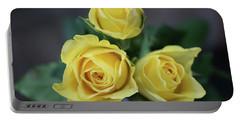 Lemon Rose Buds 1 Portable Battery Charger