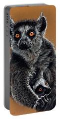 Lemurs Portable Battery Charger