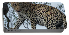 Leopard Anticipation Portable Battery Charger