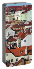Lesser Town - Historical Center Of Prague Portable Battery Charger