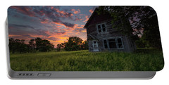 Portable Battery Charger featuring the photograph Letters From Home by Aaron J Groen