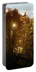 Portable Battery Charger featuring the photograph Letting Go - Autumn Art by Jordan Blackstone