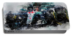Lewis Hamilton, Mercedes Amg F1 W09 - 10 Portable Battery Charger