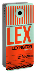 Lex Lexington Luggage Tag I Portable Battery Charger