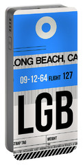 Lgb Long Beach Luggage Tag I Portable Battery Charger