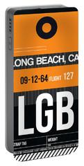 Lgb Long Beach Luggage Tag II Portable Battery Charger