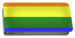 Lgbt 6 Color Rainbow Flag Portable Battery Charger