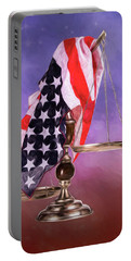 Liberty And Justice For All Portable Battery Charger