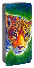 Light In The Rainforest - Jaguar Portable Battery Charger