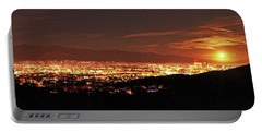 Lights Of Tucson And Moonrise Portable Battery Charger