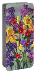 Lilac Days Portable Battery Charger