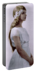 Lillian Gish Colorized Portable Battery Charger