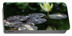 Lily In The Pond Portable Battery Charger