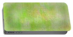 Lime Batik Print Portable Battery Charger