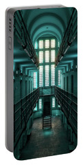Lincoln Castle Prison In Blue Portable Battery Charger